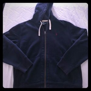 Ralph Lauren thick hooded sweatshirt